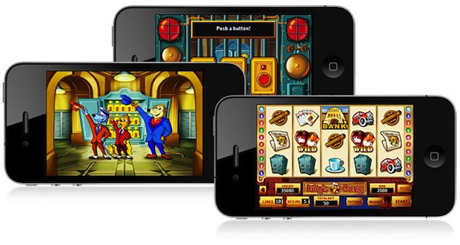 Slot pay by mobile phone available